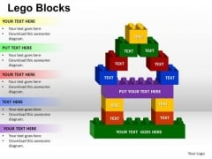 PowerPoint Theme Download Lego Ppt Process