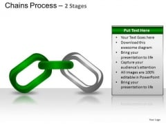 PowerPoint Theme Editable Chains Process Ppt Backgrounds