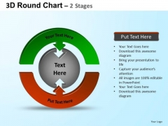 PowerPoint Theme Editable Round Process Flow Chart Ppt Backgrounds