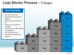 PowerPoint Theme Education Lego Ppt Design