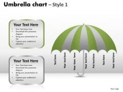 PowerPoint Theme Growth Umbrella Chart Ppt Slidelayout