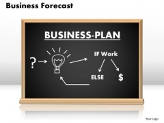 PowerPoint Theme Image Business Forecast Ppt Process