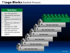 PowerPoint Theme Image Lego Blocks Ppt Template