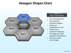 PowerPoint Theme Leadership Hexagon Shapes Ppt Template