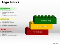 PowerPoint Theme Lego Blocks Image Ppt Templates