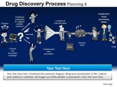 PowerPoint Theme Teamwork Drug Discovery Ppt Design