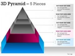 PowerPoint Theme Teamwork Pyramid Ppt Themes