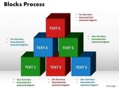 PowerPoint Themes Blocks Process Company Ppt Presentation