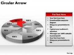 PowerPoint Themes Business Circular Arrow Ppt Designs