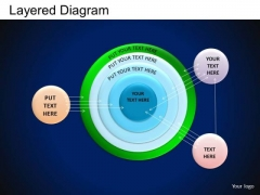 PowerPoint Themes Business Competition Layered Circle Chart Ppt Slides