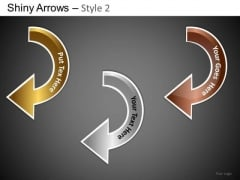 PowerPoint Themes Business Designs Shiny Arrows 2 Ppt Templates