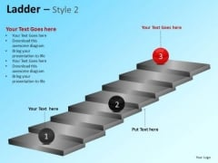 PowerPoint Themes Business Leadership Ladder Ppt Templates
