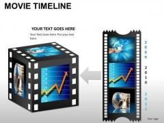 PowerPoint Themes Business Movie Timeline Ppt Designs