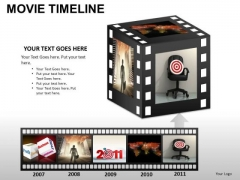 PowerPoint Themes Business Movie Timeline Ppt Layouts