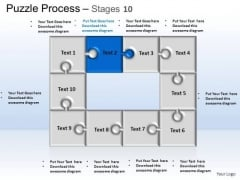 PowerPoint Themes Business Puzzle Process Ppt Process
