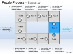 PowerPoint Themes Business Puzzle Process Ppt Template