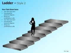 PowerPoint Themes Business Success Ladder Ppt Designs