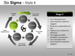 PowerPoint Themes Business Success Six Sigma Ppt Templates