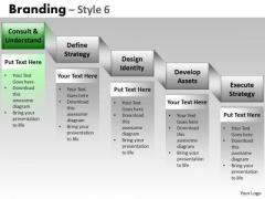 PowerPoint Themes Business Teamwork Branding Ppt Process