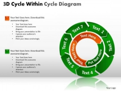 PowerPoint Themes Chart Circular Ppt Slides