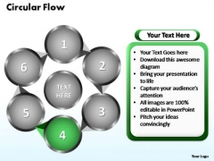 PowerPoint Themes Circular Flow Chart Ppt Design