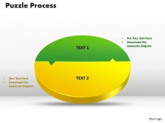 PowerPoint Themes Circular Puzzle Marketing Ppt Designs