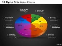 PowerPoint Themes Cycle Chart Cycle Process Ppt Slides