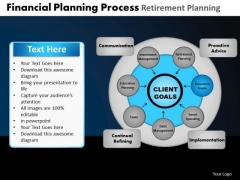 PowerPoint Themes Diagram Financial Planning Ppt Process