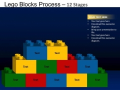 PowerPoint Themes Download Lego Blocks Ppt Template