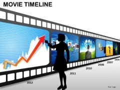 PowerPoint Themes Download Movie Timeline Ppt Themes