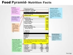 PowerPoint Themes Editable Food Pyramid Ppt Presentation