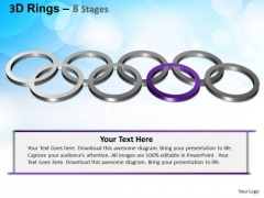 PowerPoint Themes Editable Rings Ppt Backgrounds