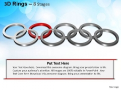 PowerPoint Themes Editable Rings Ppt Presentation Designs