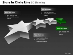 PowerPoint Themes Education Stars In Circle Ppt Designs