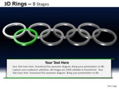 PowerPoint Themes Global Rings Ppt Template