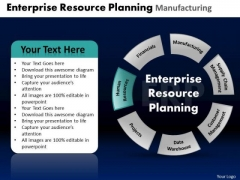 PowerPoint Themes Graphic Enterprise Resource Ppt Template