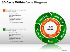 PowerPoint Themes Growth Circular Chart Ppt Layouts