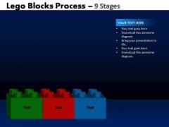 PowerPoint Themes Growth Lego Blocks Ppt Templates