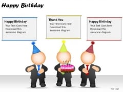 PowerPoint Themes Happy Birthday Diagram Ppt Presentation Designs