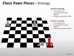 PowerPoint Themes Leadership Chess Pawn Ppt Layouts