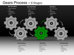 PowerPoint Themes Leadership Gears Process Ppt Theme