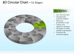 PowerPoint Themes Marketing Circular Ppt Templates