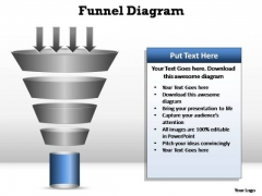 PowerPoint Themes Marketing Funnel Diagram Ppt Presentation