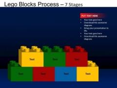 PowerPoint Themes Marketing Lego Blocks Ppt Backgrounds