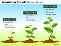 PowerPoint Themes Marketing Measuring Growth Ppt Designs