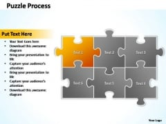 PowerPoint Themes Marketing Puzzle Ppt Templates