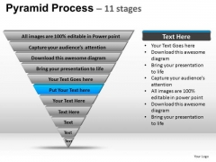 PowerPoint Themes Marketing Pyramid Process Ppt Slides
