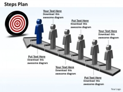 PowerPoint Themes Marketing Steps Plan 6 Stages Style 6 Ppt Templates