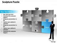 PowerPoint Themes Sale Sculpture Puzzle Ppt Templates