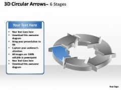 PowerPoint Themes Sales Circular Arrows Ppt Presentation